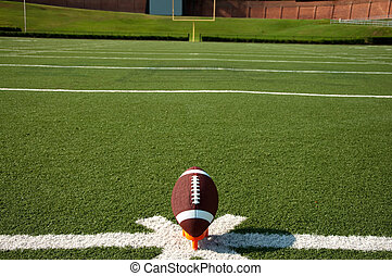 football americano, kickoff