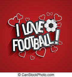 football, amour