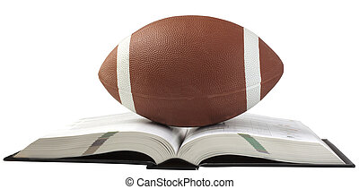 Football and book