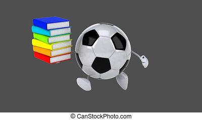 football, -, animation, numérique