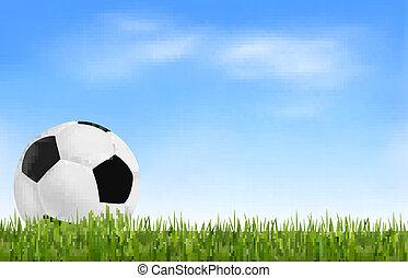 Football background. Vector.