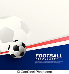 football background with text space