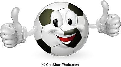 football bal, mascotte