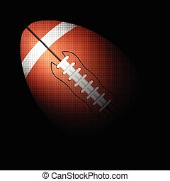 football ball black