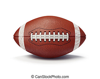 football ball isolated on a white background