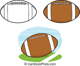 Football Balls Collection Set 1