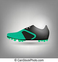 football boot icon vector illustration