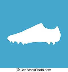 Football boots icon, simple