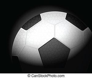 football, boule noire