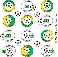 Football Brazil 2014