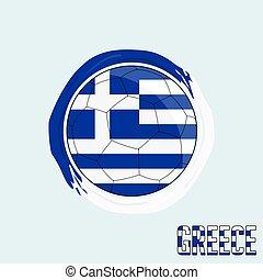 Football championship Flag