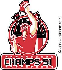Football Champs 51 Atlanta Retro