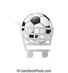 football, chariot