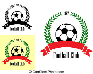 Football club emblems