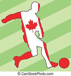 football colors of Canada