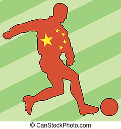 football colors of China
