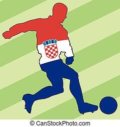 football colors of Croatia