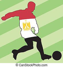 football colors of Egypt