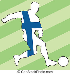 football colors of Finland