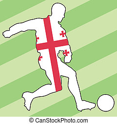 football colors of Georgia
