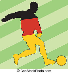 football colors of Germany