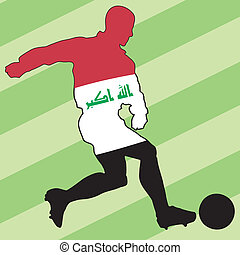football colors of Iraq