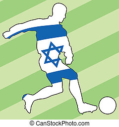 football colors of Israel
