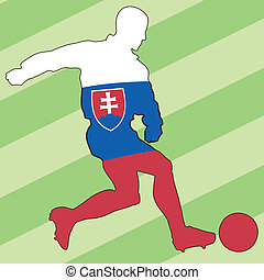 football colors of Slovakia