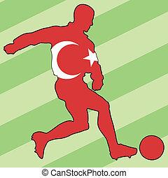 football colors of Turkey