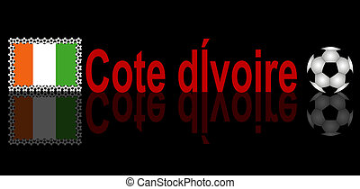 football, cote, d?ivoire