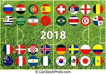 Football Cup in Russia 2018