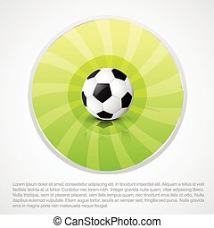 football design with space for your text