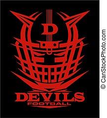 football, diables