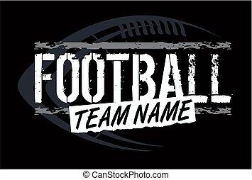football, disegno