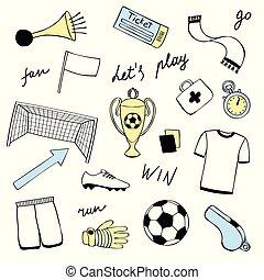 Football Doodle Set