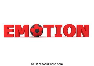 Football Emotion Red