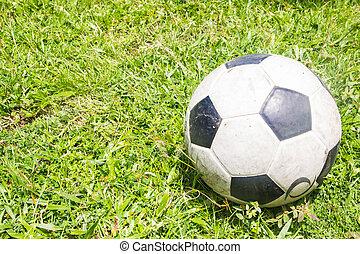 football, erba, campo