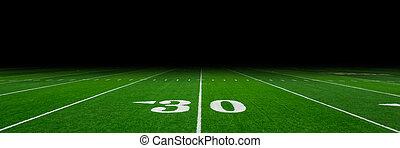 Football field - American football field