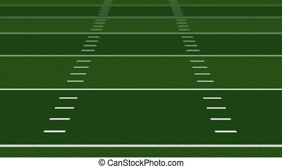 Football Field Background Loop HD - Seamlessly looping...