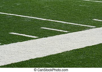 Football field side line