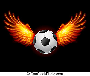 Football-Fiery wings