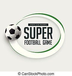 football game background with text space