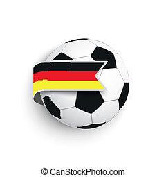 Football German Flag