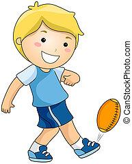 football, gioco
