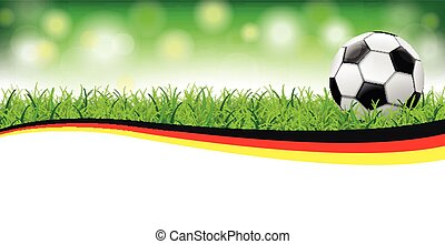 Football Grass Bokeh Header Germany