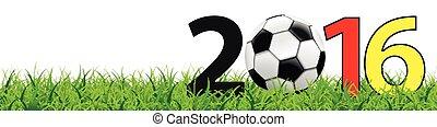 Football Grass White Header Germany SH
