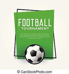 football green banner with text space