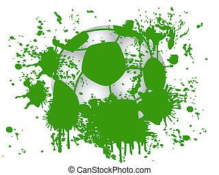 football, grunge, fond