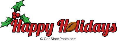 Football Happy Holidays