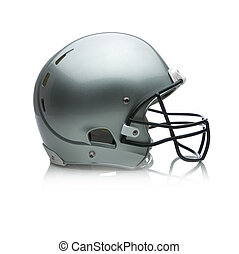 Picture of a football helmet.